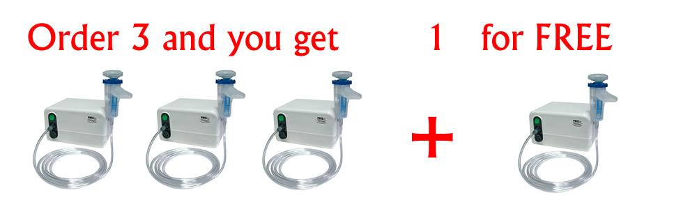 Inhalator Prizjet Order 3 and you get 1 for free