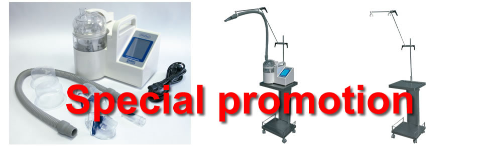 Special promotion of Inhaler  Profi Sonic for Clinics, Hospitals, Ambulances, SPA