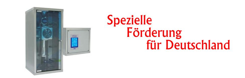 Spezielle Förderung von Halogenerator Prizsalt für Deutschland