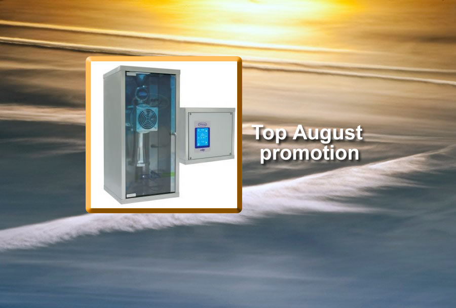 Top August limited promotion for Halogenerator Prizsalt