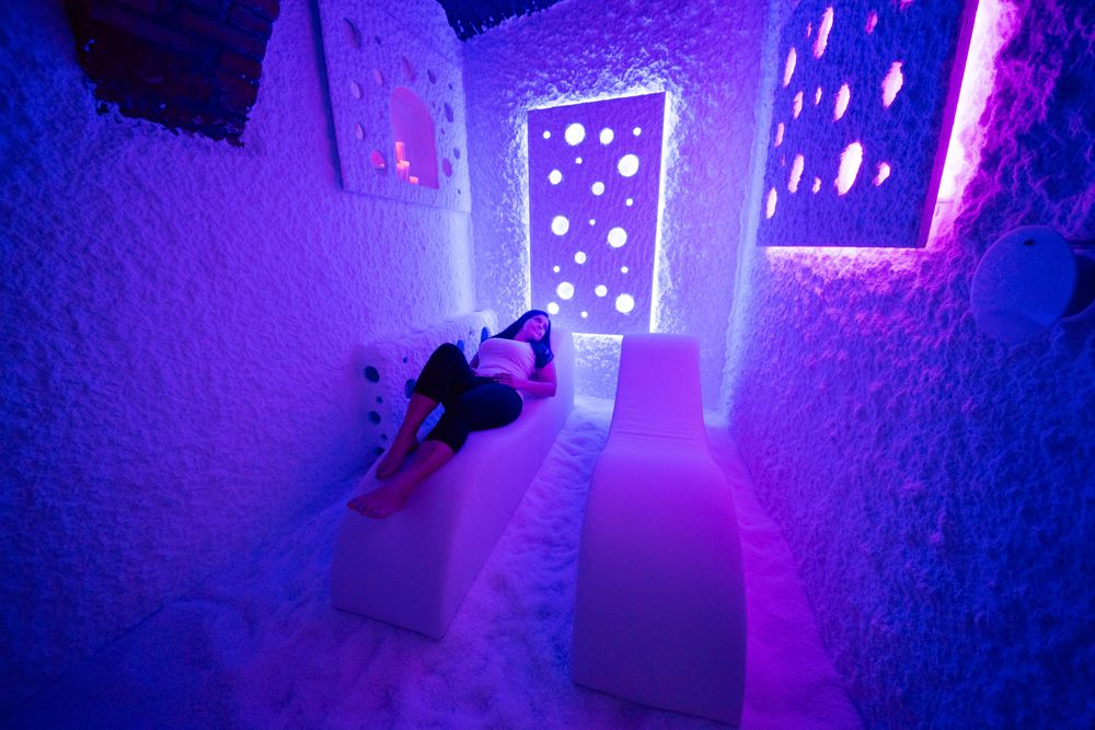 Salt rooms, halogenerators and quality Salt therapy